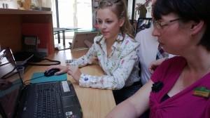 Chloe Greenwood - social media training
